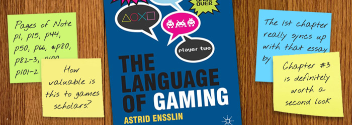 Review - The Language of Gaming