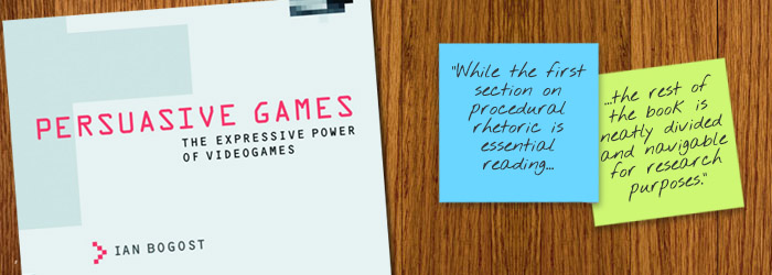 Review - Persuasive Games