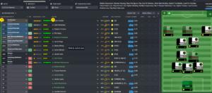 Tactics menu in Football Manager