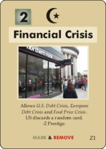 An image of the Financial Crisis card from Labyrinth