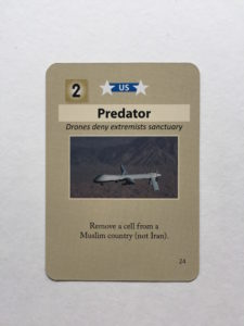 An image of the Predator event card in Labyrinth