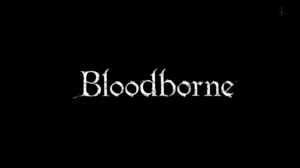A screenshot depicting the loading screen from Bloodborne as it appeared at launch