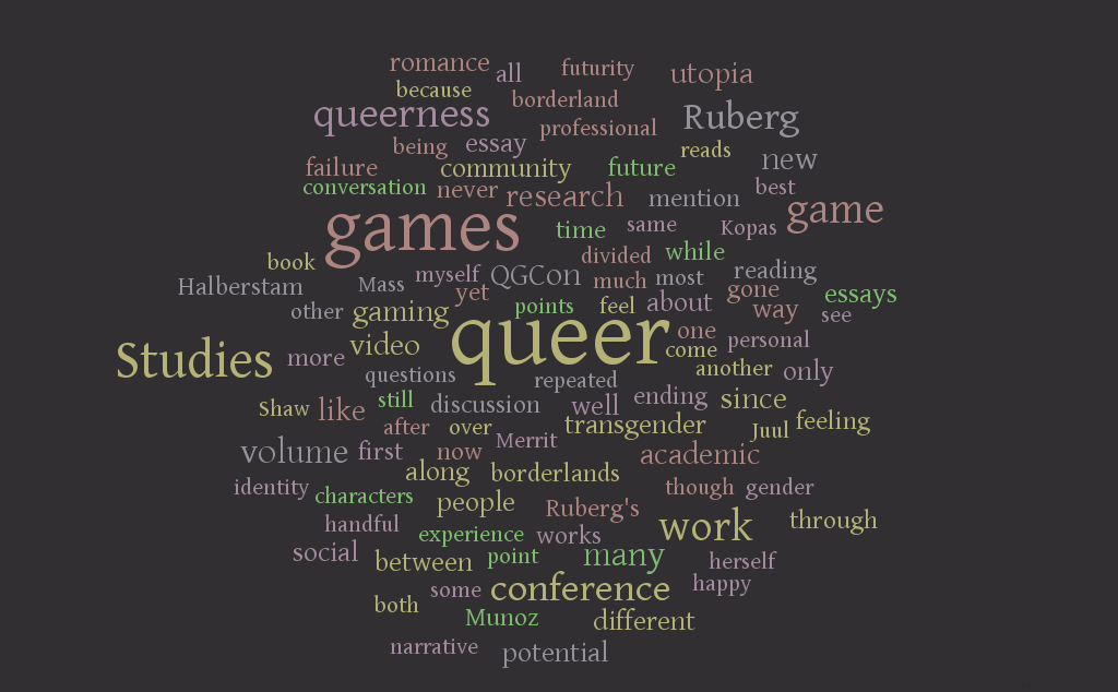 Deshane Queer Game Studies review