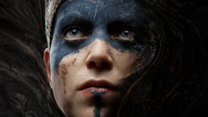 A picture of Senua from Hellblade: Senua's Sacrifice