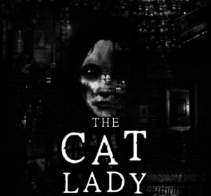 A promotional image for The Cat Lady