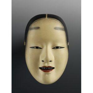 A photo of a waka-onna mask
