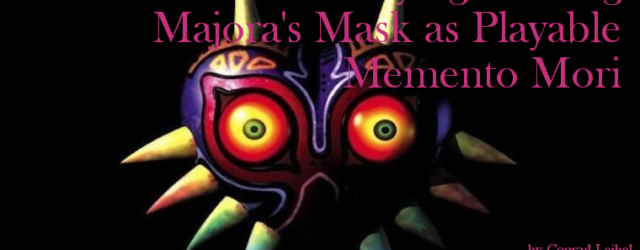 Leibel Majoras Mask Cover Image