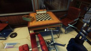 Caption: One of the unplayable chessboards found around Talos I. Screenshot.
