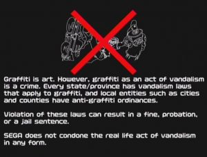 Graffiti is art. However, graffiti as an act of vandalism is a crime. Every state/province has vandalism laws that apply to graffiti, and local entities such as cities and counties have anti-graffiti ordinances.