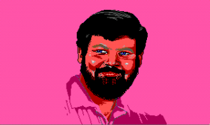 Dale, an exotic dancer Patti encounters in Leisure Suit Larry 3.