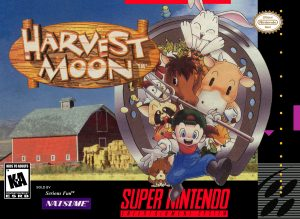 The Harvest Moon game box.