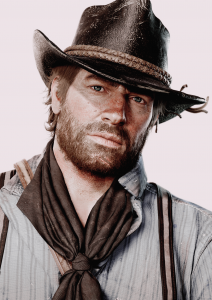 Arthur Morgan's default look. Credit: Rockstar Studios.